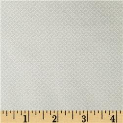 108'' Wide Essentials Quilt Backing Criss Cross White