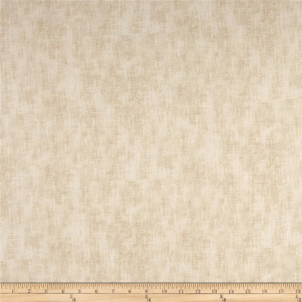 "Timeless Treasures 108"" Wide Backing Studio Texture Vanilla"