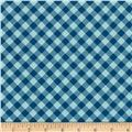 Riley Blake Bee Basics Gingham Blue