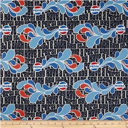 Pepsi Have a Pepsi Day Navy Fabric
