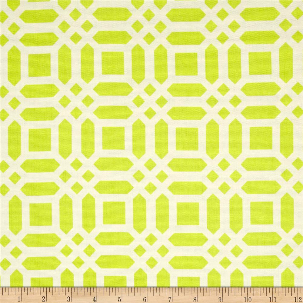 Riley Blake Home Decor Vivid Lattice Lime