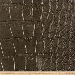 Fabricut Aluminum Oxide Faux Leather Antique Gold