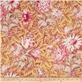 Verna Mosquera October Skies Cotton Voile Foliage Blush