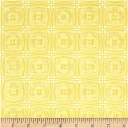 Market Road Square Lines Cream/Mustard