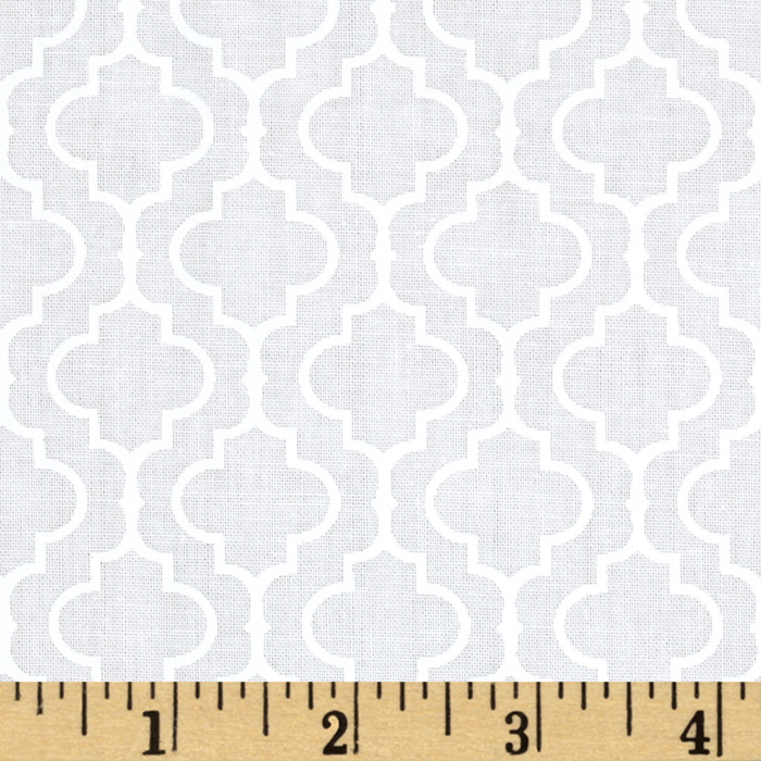 Metro Living Tile Snow Fabric