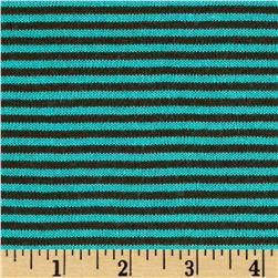Rebecca's Cotton Hatchi Knit Stripes Mint Chocolate Chip
