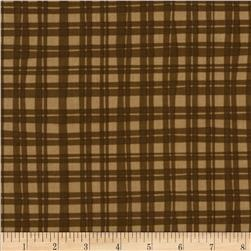 Naughty Puppies Puppy Gingham Brown