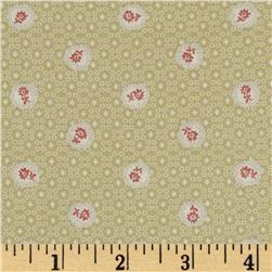 Lecien Kate Greenaway Coordinates Mini Medallion Light Green