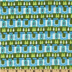 Amy Butler Cameo Hopscotch Olive Fabric
