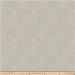 Fabricut Snipes Lattice Jacquard Mist