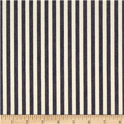 Benartex Home Patra Stripe Navy/Off White