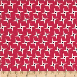 Riley Blake Gracie Girl Sparkle Pink Fabric