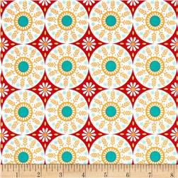 Riley Blake Ardently Austen Medallion Red