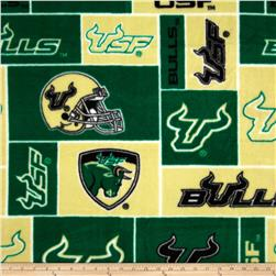 Collegiate Fleece University of South Florida Allover