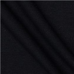 T-Knit Ribbing Black