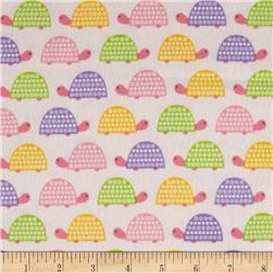 Robert Kaufman Wild Bunch Flannel Turtles Spring