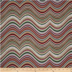Robert Kaufman Vantage Point Contour Stripe Retro