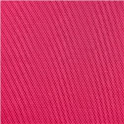 Athletic Mesh Knit Fuschia