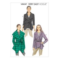 Vogue Misses' Jacket and Belt Pattern V9037 Size A50