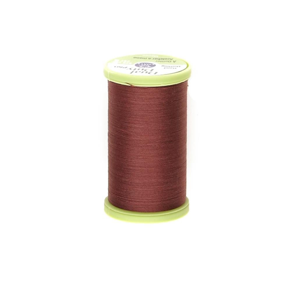 Coats & Clark Dual Duty Plus Hand Quilting Thread 325 Yds.Rum Raisin