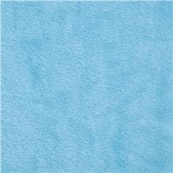 Minky Cuddle Spa Baby Blue Fabric