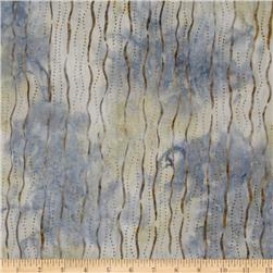 Artisan Batik: Enchanted Squiggle Stripes Vintage