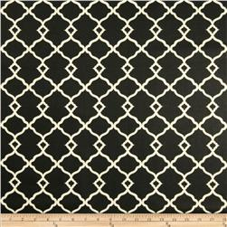 Waverly Chippendale Fretwork Sateen Onyx