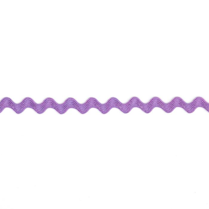 "1/4"" Ric Rac Rayon Baby Trim Purple"