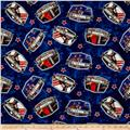 Saturday Evening Post Patriotic Toss Blue