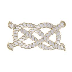 Nautical Knot Applique Gold