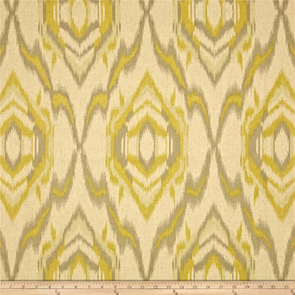 World Wide Ecuador Ikat Citron