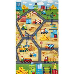 From The Ground Up Playmat 24 In. Panel Multi
