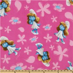 Smurfette Fleece Pink