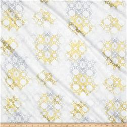 Timeless Treasures Metallic Zephyr Basket Weave Air