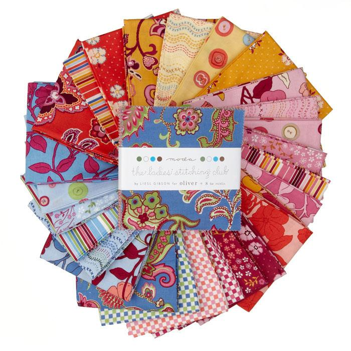 Moda The Ladies Stitching Club 5'' Charm Pack