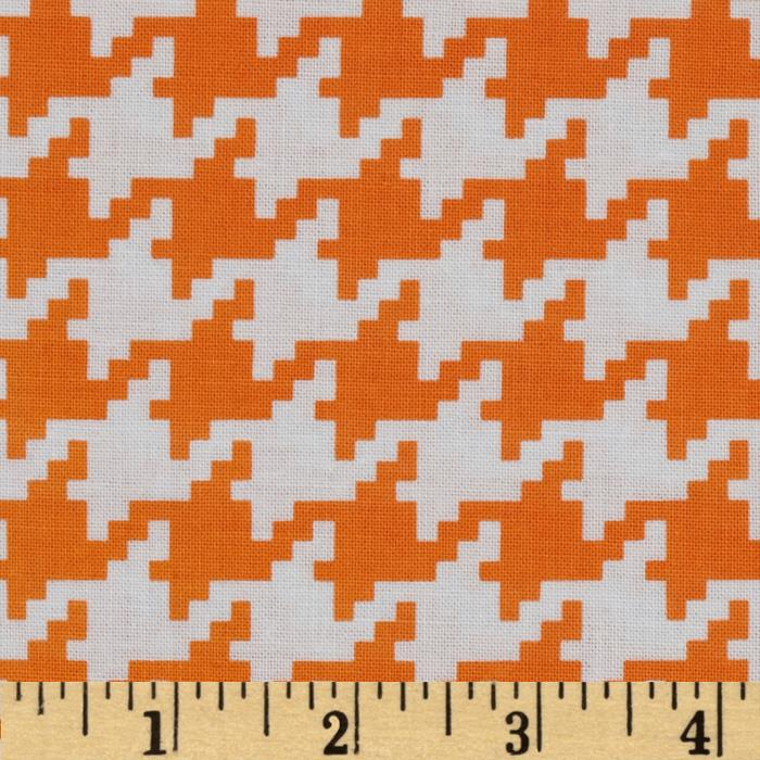 Michael Miller Everyday Houndstooth Apricot