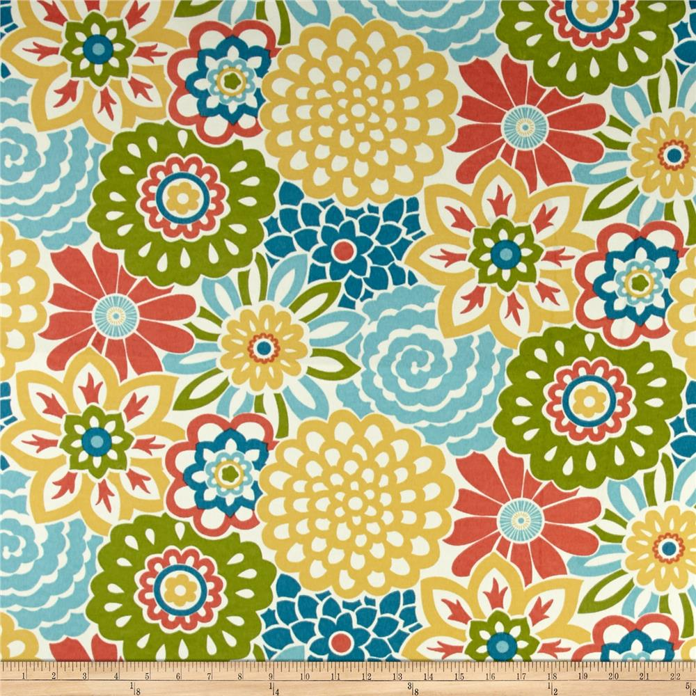 Waverly sun n shade button blooms fruit cocktail for Where to order fabric