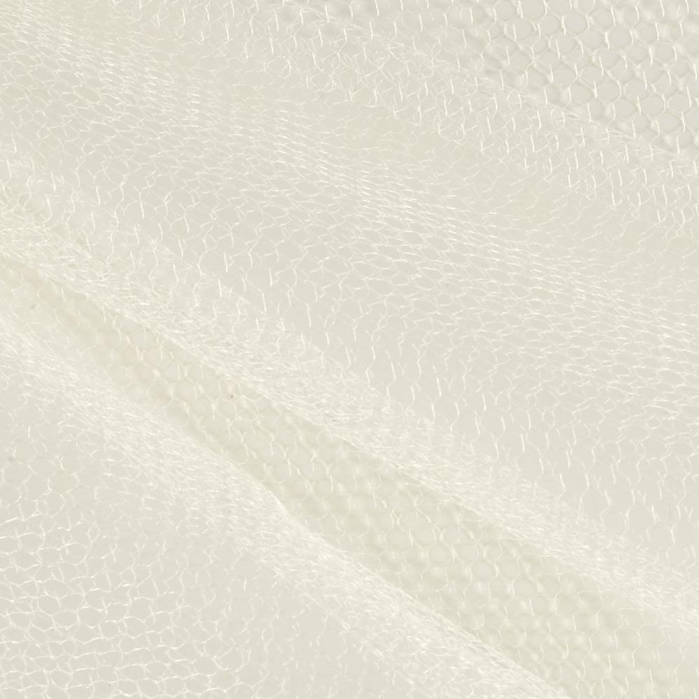 Nylon Netting Ivory Fabric By The Yard