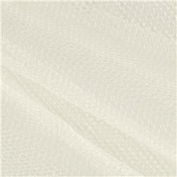 Nylon Netting Ivory Fabric