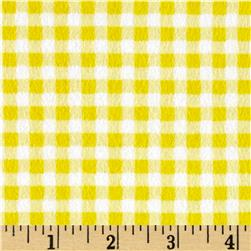 Flannel Basic Plaid Yellow
