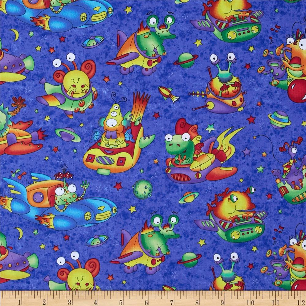 Wild Things Flying Monsters Blue