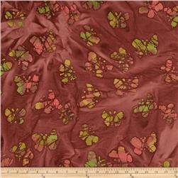 Indian Batiks Butterfly Bronze