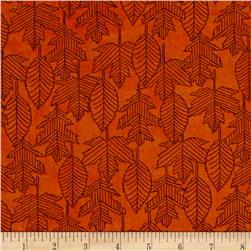 Moda Welcome Fall Leaf Lines Pumpkin