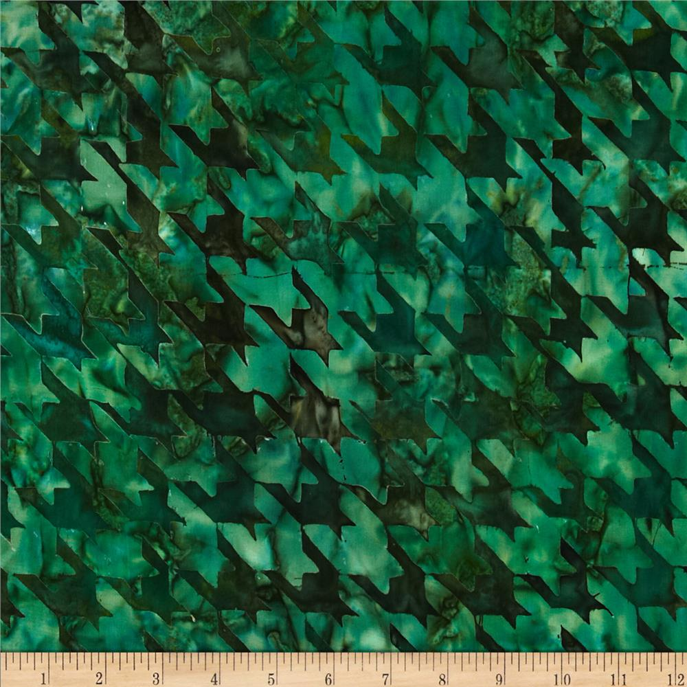 Artisan Batiks Texture Study 2 Houndstooth Large Jungle