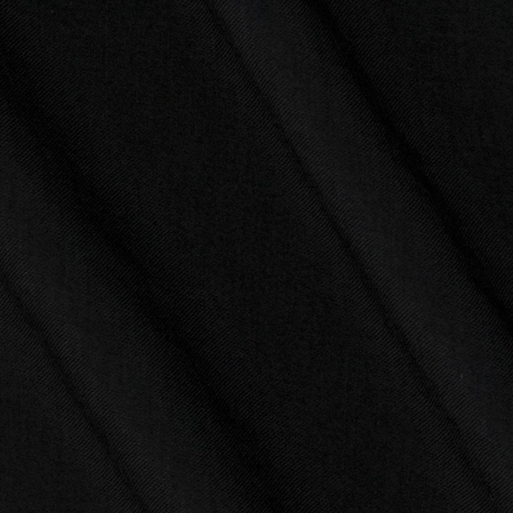 Shimmer Sueded Shirting Black