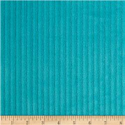 Telio Stripe Minky Velour Teal