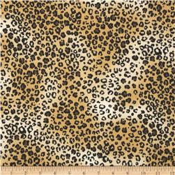 Safari Leopard Tan