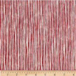 Suzy's Zoo Pumpkin Patch Stripe Peppermint Fabric