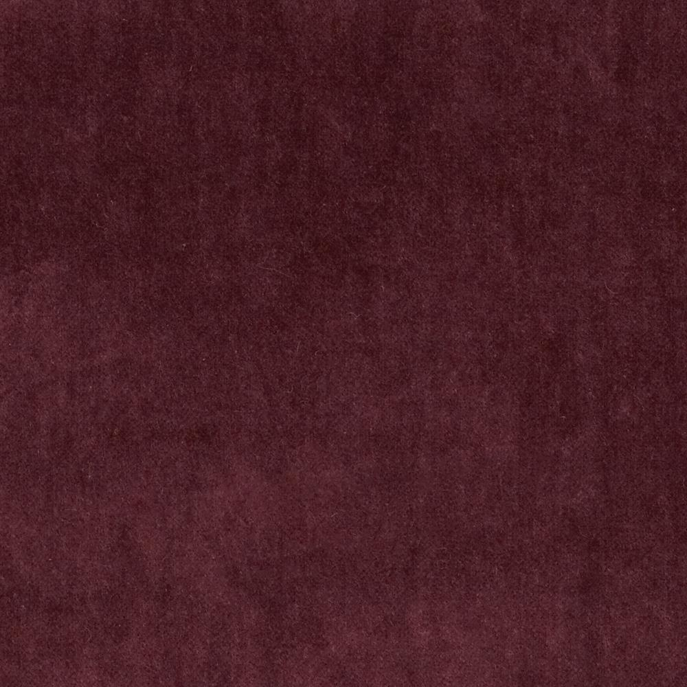 45'' Alpine Cotton Velvet Burgundy