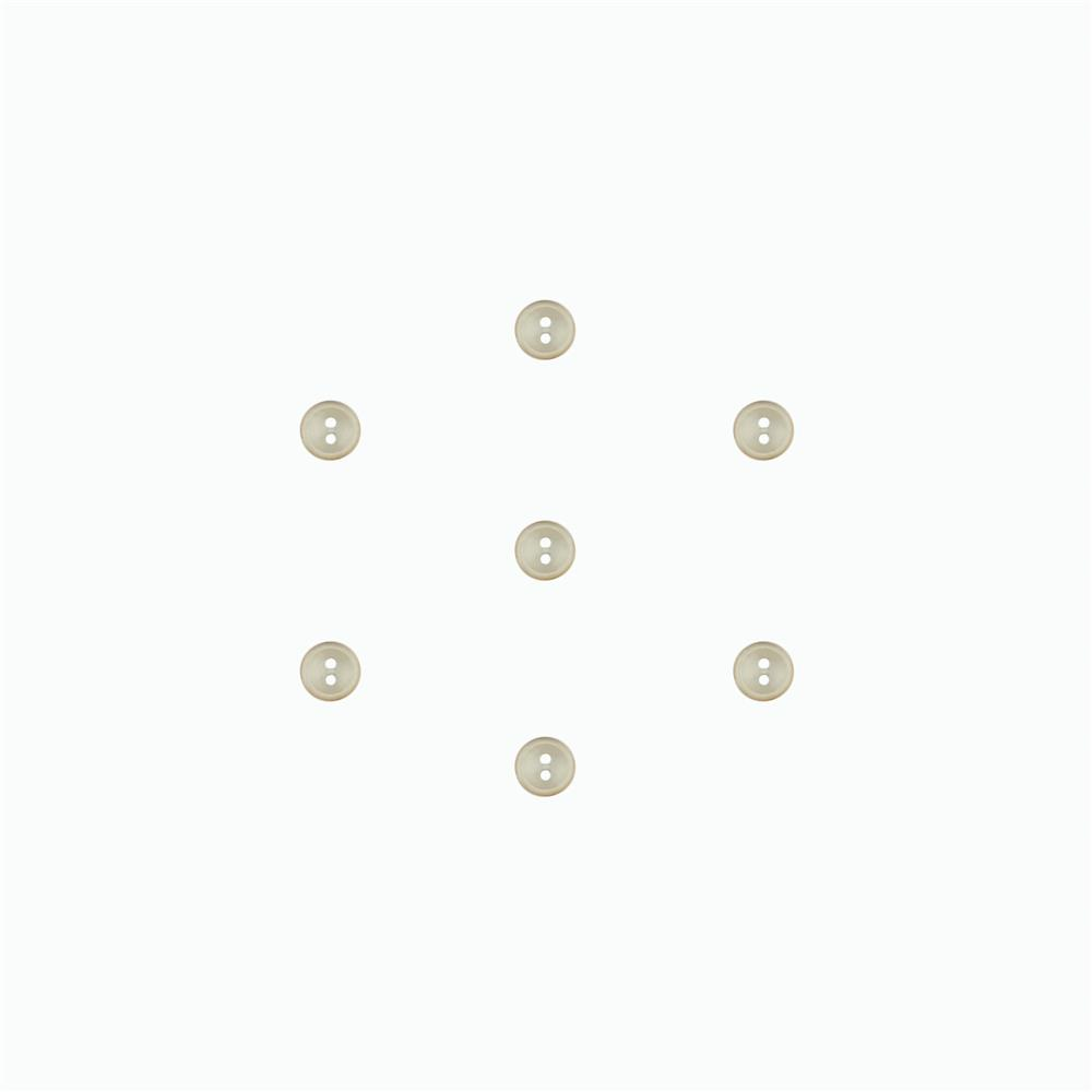 Dill Classic Button 7/16'' Beige